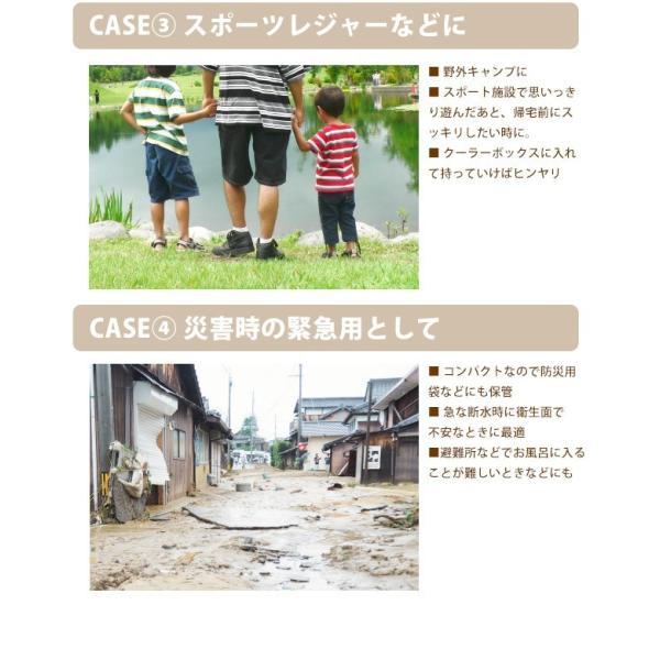 日本製 大判ウェットシート からだきれい 10枚1セット Lサイズ からだふき用ウエットティッシュ 入院時 介護時  防災グッズに (300089) (ms)|msstore-1147|06