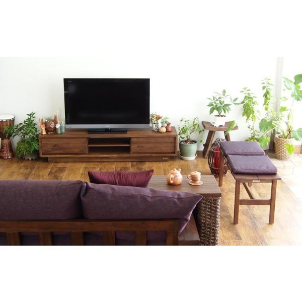 アジアン家具 @CBi(アクビィ) VILLA TVボード 幅160cm ACW540KA (50716)(RW)|msstore-1147|03