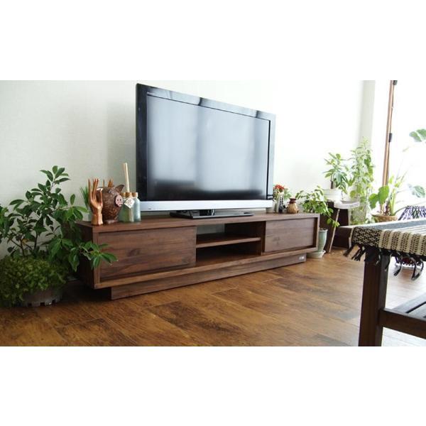 アジアン家具 @CBi(アクビィ) VILLA TVボード 幅160cm ACW540KA (50716)(RW)|msstore-1147|05