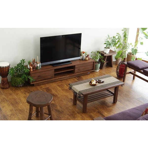 アジアン家具 @CBi(アクビィ) VILLA TVボード 幅160cm ACW540KA (50716)(RW)|msstore-1147|06