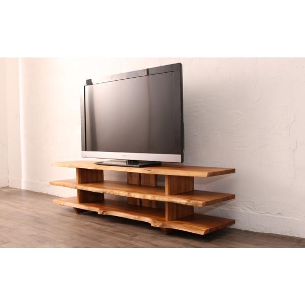 BREEZE チーク無垢材 TVボード 150cm幅 W105WX (50718)(RW)|msstore-1147|03