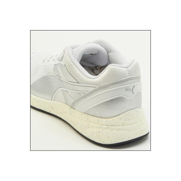 PUMA IGNITE METALLIC(プーマ イグナイト メタリック) White-puma silver-White (361263-02) ランニング Running レディス|mstage|04