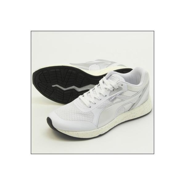 PUMA IGNITE METALLIC(プーマ イグナイト メタリック) White-puma silver-White (361263-02) ランニング Running レディス|mstage|05