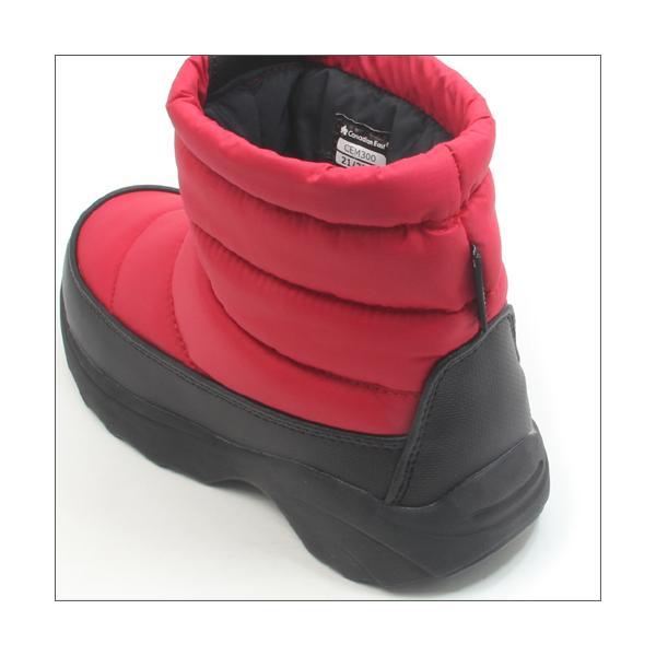 Canadian East カナディアンイースト グリーンレーベル キッズ ジュニア ダウンブーツ ウィンター ブラック レッド ネイビー 防寒 防水 子供用 冬靴 17-24cm|mstage|05