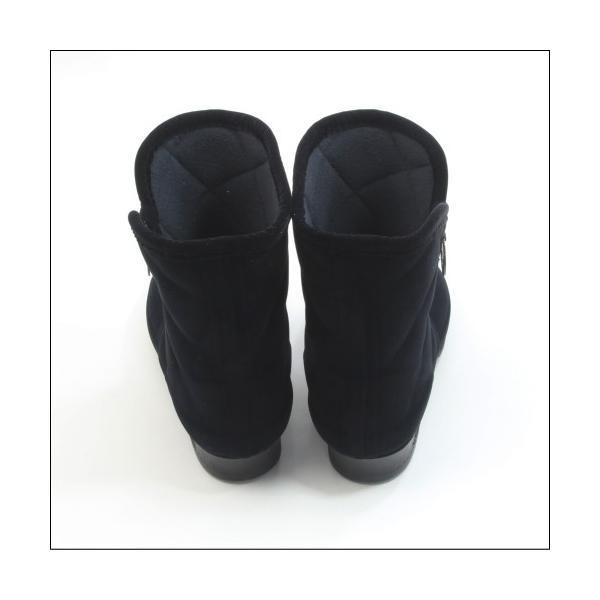 第一ゴム シェブリー スエード W750 レディース 防滑 防寒 長靴 ブラック 冬用 雪 除雪 完全防水 スノーブーツ レインブーツ スパイク ボア 日本製|mstage|09