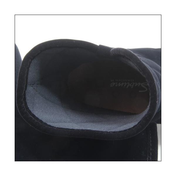 第一ゴム シェブリー スエード W750 レディース 防滑 防寒 長靴 ブラック 冬用 雪 除雪 完全防水 スノーブーツ レインブーツ スパイク ボア 日本製|mstage|10