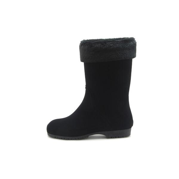 第一ゴム シェブリー スエード W85 レディース 防滑 防寒 長靴 ブラック 冬用 雪 除雪 完全防水 スノーブーツ レインブーツ スパイク ボア 日本製|mstage|14