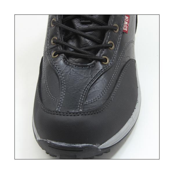 エドウィン 防水 防寒 ウインター ブーツ メンズ スノーブーツ ミッドカット トレッキング 登山 アウトドア ワークブーツ EDWIN EDS-9120|mstage|02
