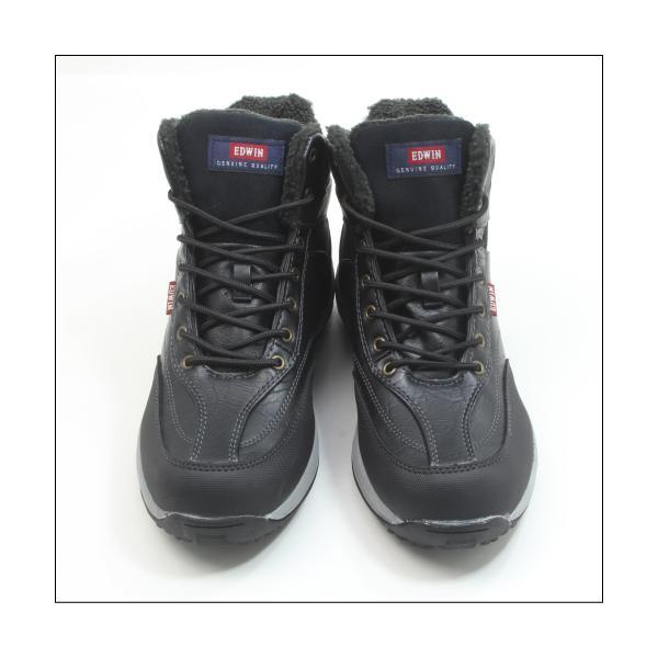エドウィン 防水 防寒 ウインター ブーツ メンズ スノーブーツ ミッドカット トレッキング 登山 アウトドア ワークブーツ EDWIN EDS-9120|mstage|11