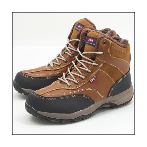 エドウィン 防水 防寒 ウインター ブーツ メンズ スノーブーツ ミッドカット トレッキング 登山 アウトドア ワークブーツ EDWIN EDS-9120|mstage|16
