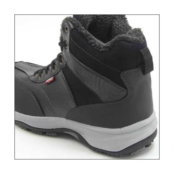エドウィン 防水 防寒 ウインター ブーツ メンズ スノーブーツ ミッドカット トレッキング 登山 アウトドア ワークブーツ EDWIN EDS-9120|mstage|04