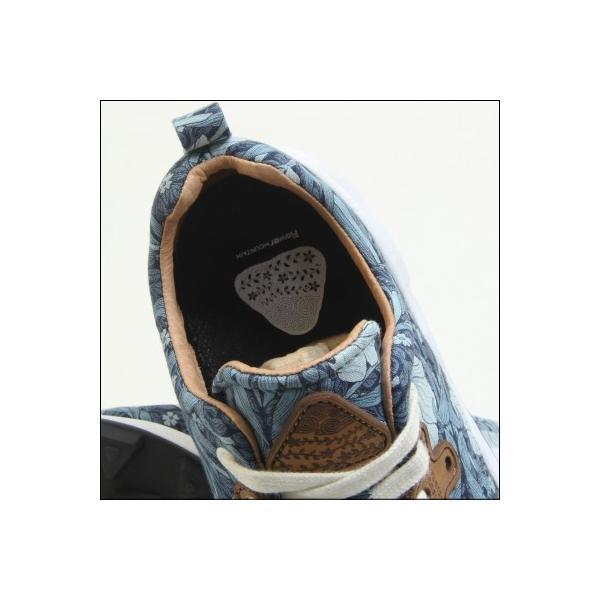 フラワーマウンテン パンパス ピンパーネル ネイビー メンズサイズ ローカット 柄 スニーカー FlowerMountain PAMPAS Pimpernel FM03007 NAVY|mstage|10