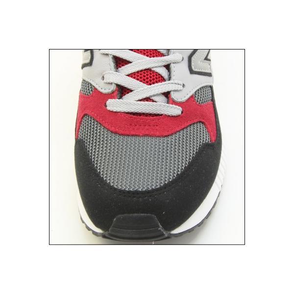 new balance ニューバランス M530 PSB (幅:D) GRAY/RED ランニング シューズ Running Style ユニセックス・レディースサイズ|mstage|02