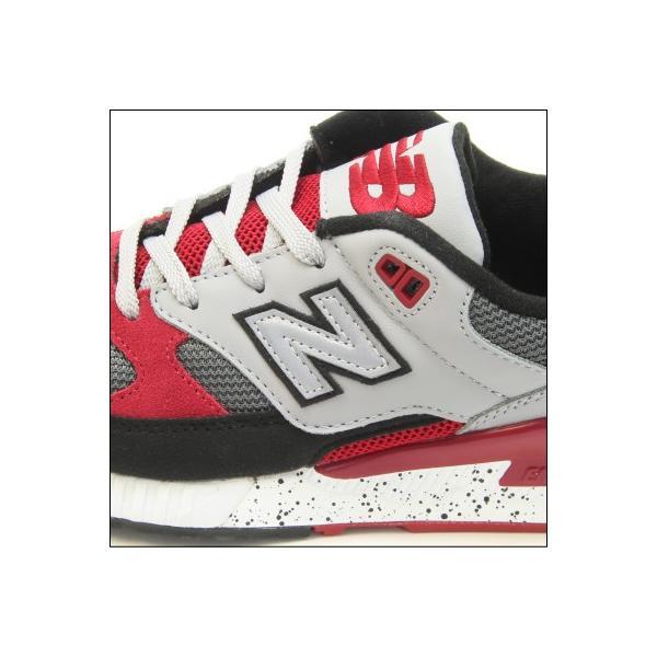 new balance ニューバランス M530 PSB (幅:D) GRAY/RED ランニング シューズ Running Style ユニセックス・レディースサイズ|mstage|03