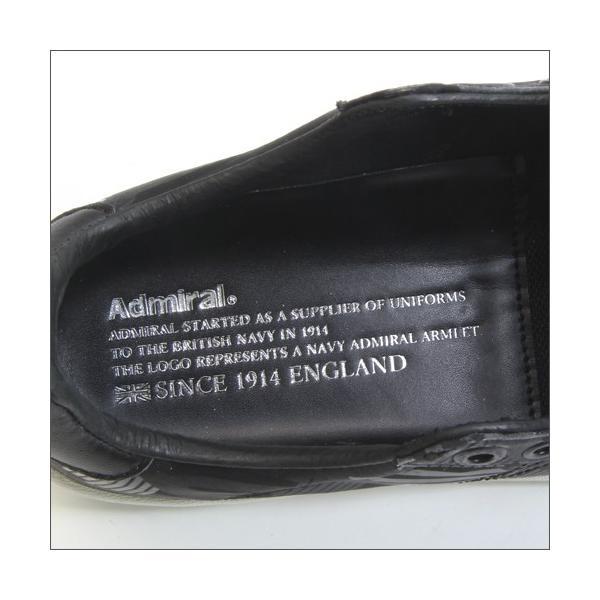 アドミラル パークランド AC レディース ローカット スニーカー ブラック/ダズル Admiral PARKLAND AC Black/Dazzle mstage 05