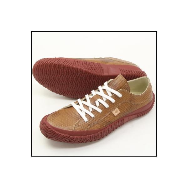 SPINGLE MOVE スピングルムーブ SPM-033 OAK(オーク) (メンズ) made in japan ハンドメイド(手作り)スニーカー(革靴)|mstage|05