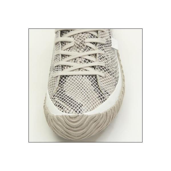 スピングルムーブ スネーク 蛇柄 ホワイト メンズ ハンドメイド 手作り スニーカー 革靴 SPINGLE MOVE SPM-104R WHITE made in japan|mstage|02