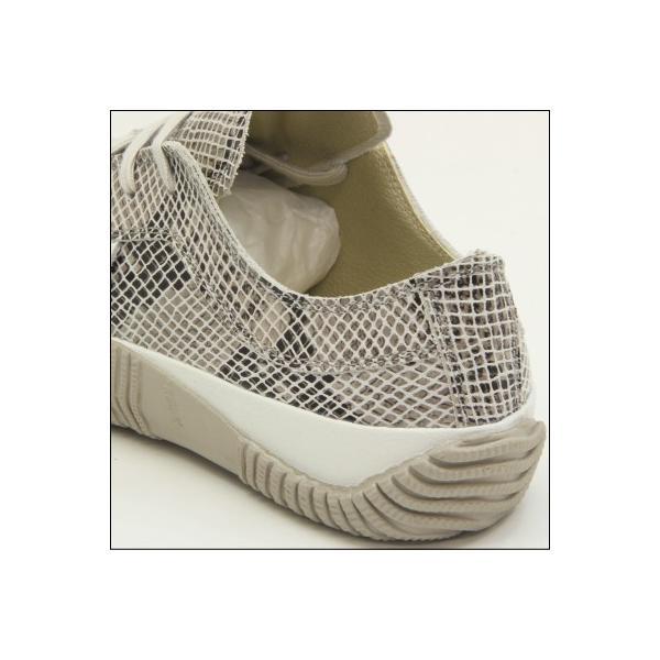 スピングルムーブ スネーク 蛇柄 ホワイト メンズ ハンドメイド 手作り スニーカー 革靴 SPINGLE MOVE SPM-104R WHITE made in japan|mstage|04