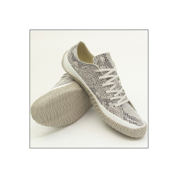 スピングルムーブ スネーク 蛇柄 ホワイト メンズ ハンドメイド 手作り スニーカー 革靴 SPINGLE MOVE SPM-104R WHITE made in japan|mstage|07