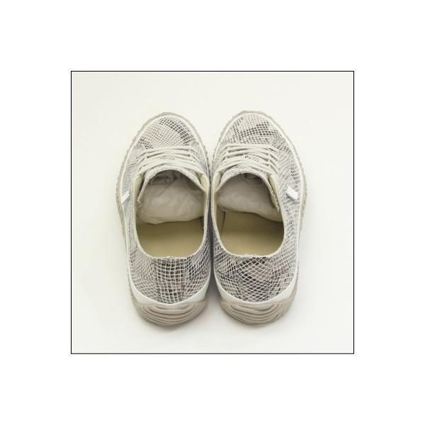 スピングルムーブ スネーク 蛇柄 ホワイト メンズ ハンドメイド 手作り スニーカー 革靴 SPINGLE MOVE SPM-104R WHITE made in japan|mstage|09
