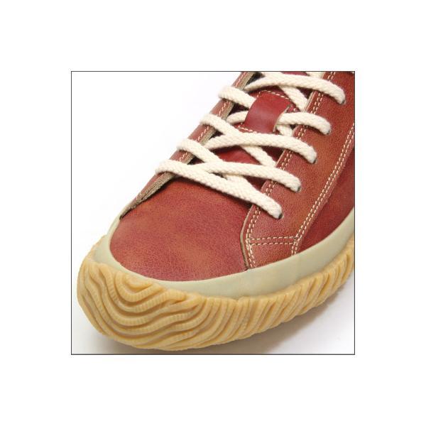 SPINGLE MOVE スピングルムーブ SPM-115 RED レッド made in japan ハンドメイド 手作り スニーカー 革靴 メンズサイズ|mstage|02