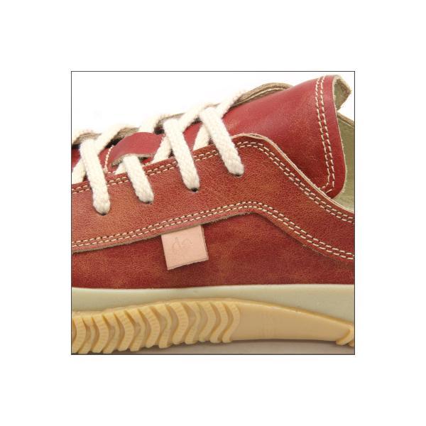 SPINGLE MOVE スピングルムーブ SPM-115 RED レッド made in japan ハンドメイド 手作り スニーカー 革靴 メンズサイズ|mstage|03