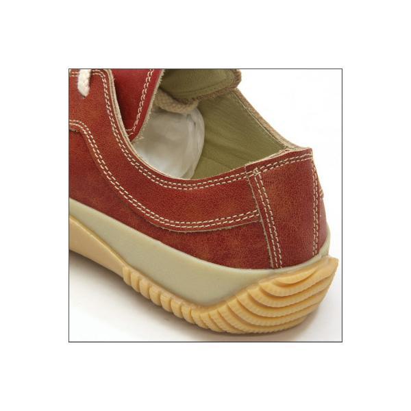 SPINGLE MOVE スピングルムーブ SPM-115 RED レッド made in japan ハンドメイド 手作り スニーカー 革靴 メンズサイズ|mstage|04