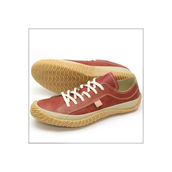 SPINGLE MOVE スピングルムーブ SPM-115 RED レッド made in japan ハンドメイド 手作り スニーカー 革靴 メンズサイズ|mstage|05