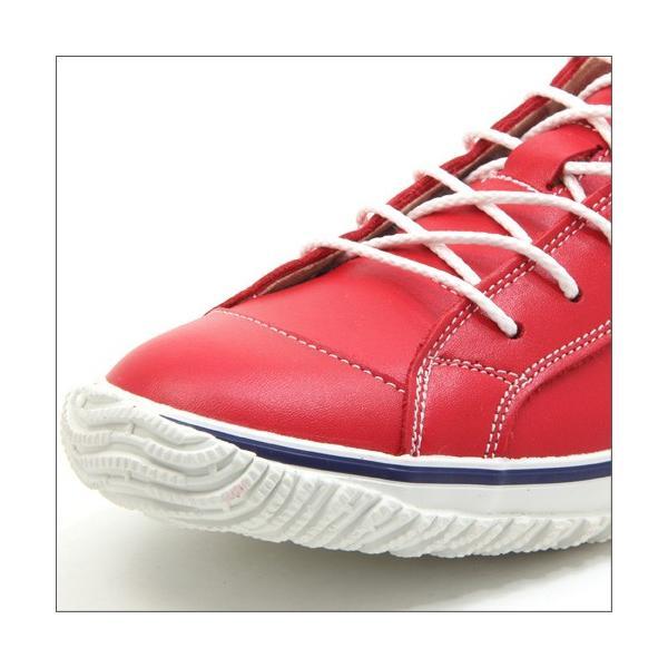 スピングルムーブ SPINGLE MOVE SPM-139 RED(レッド) 広島東洋カープ メンズ made in japan ハンドメイド 手作り スニーカー 革靴|mstage|02
