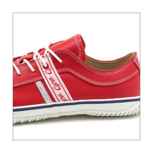 スピングルムーブ SPINGLE MOVE SPM-139 RED(レッド) 広島東洋カープ メンズ made in japan ハンドメイド 手作り スニーカー 革靴|mstage|03