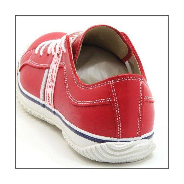 スピングルムーブ SPINGLE MOVE SPM-139 RED(レッド) 広島東洋カープ メンズ made in japan ハンドメイド 手作り スニーカー 革靴|mstage|04