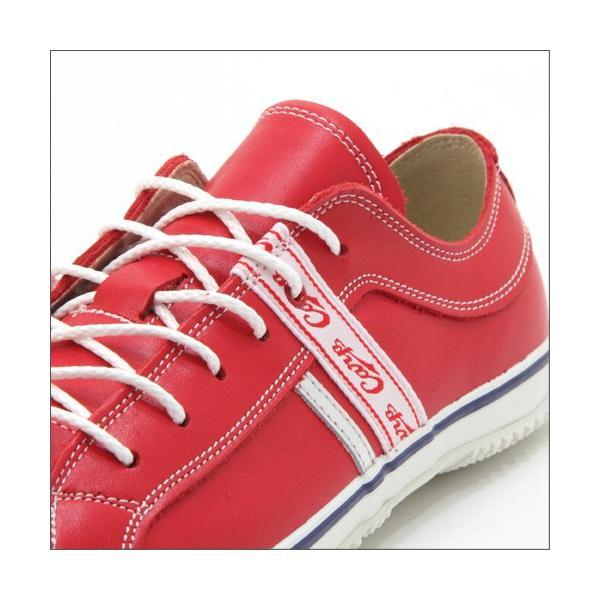 スピングルムーブ SPINGLE MOVE SPM-139 RED(レッド) 広島東洋カープ メンズ made in japan ハンドメイド 手作り スニーカー 革靴|mstage|05