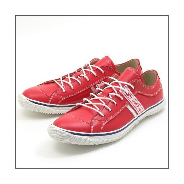 スピングルムーブ SPINGLE MOVE SPM-139 RED(レッド) 広島東洋カープ メンズ made in japan ハンドメイド 手作り スニーカー 革靴|mstage|07