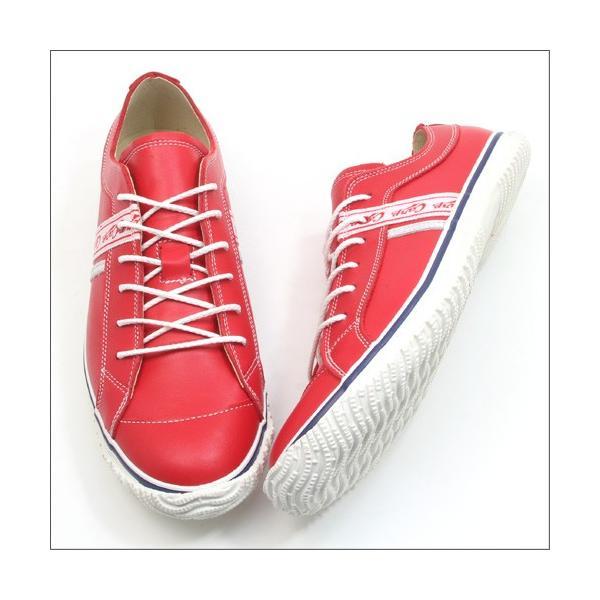 スピングルムーブ SPINGLE MOVE SPM-139 RED(レッド) 広島東洋カープ メンズ made in japan ハンドメイド 手作り スニーカー 革靴|mstage|08