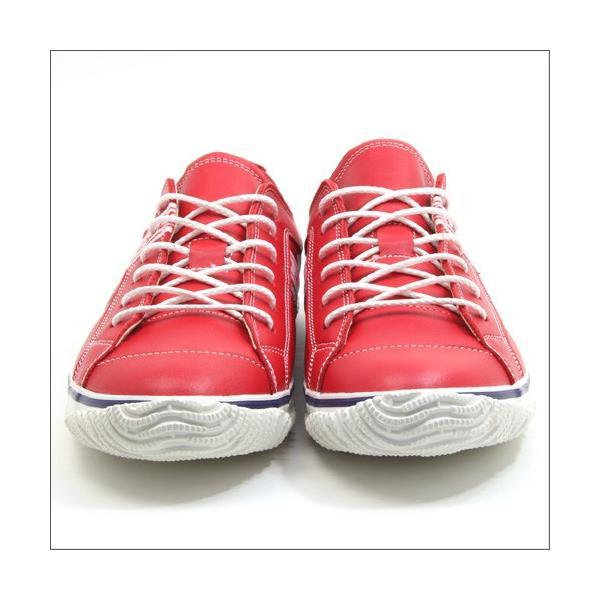 スピングルムーブ SPINGLE MOVE SPM-139 RED(レッド) 広島東洋カープ メンズ made in japan ハンドメイド 手作り スニーカー 革靴|mstage|09