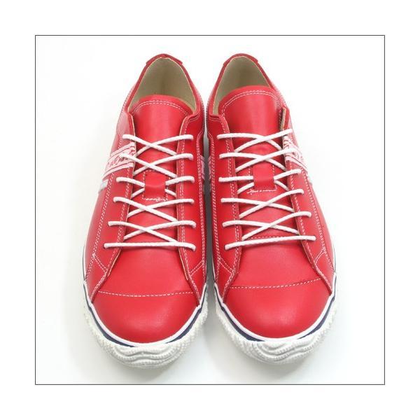 スピングルムーブ SPINGLE MOVE SPM-139 RED(レッド) 広島東洋カープ メンズ made in japan ハンドメイド 手作り スニーカー 革靴|mstage|10
