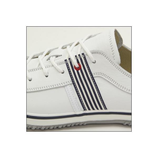 SPINGLE MOVE スピングルムーブ SPM-168 WHITE/NAVY(ホワイト/ネイビー) メンズ スニーカー 革靴 made in japan ハンドメイド 手作り|mstage|03