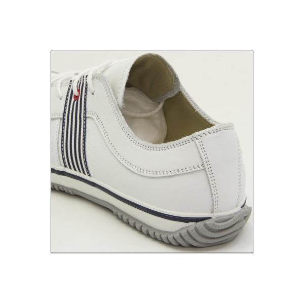 SPINGLE MOVE スピングルムーブ SPM-168 WHITE/NAVY(ホワイト/ネイビー) メンズ スニーカー 革靴 made in japan ハンドメイド 手作り|mstage|04