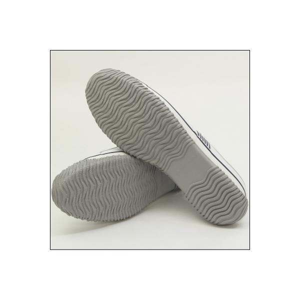 SPINGLE MOVE スピングルムーブ SPM-168 WHITE/NAVY(ホワイト/ネイビー) メンズ スニーカー 革靴 made in japan ハンドメイド 手作り|mstage|06