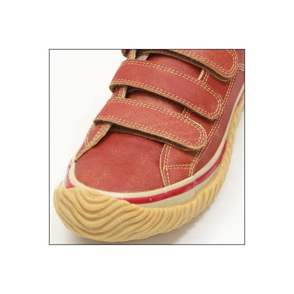 SPINGLE MOVE スピングルムーブ SPM-211 RED レッド 赤 スニーカー 革靴 ローカット メンズサイズ 紐なし 日本製|mstage|02