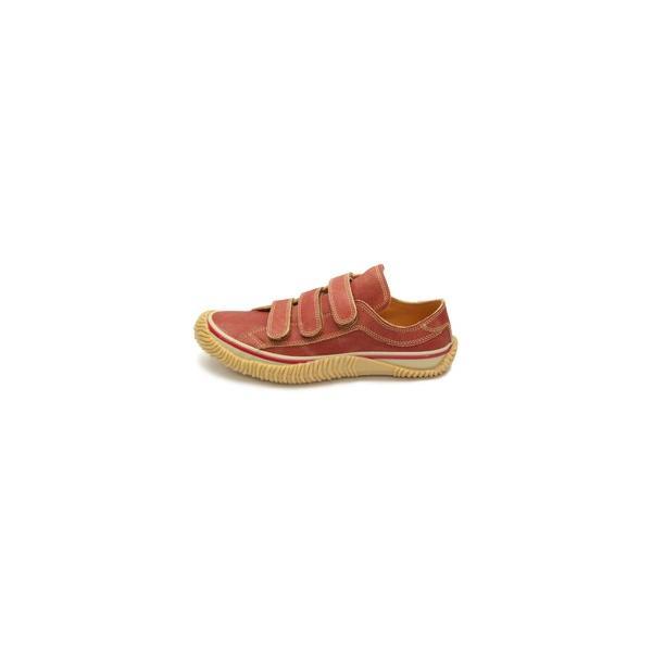 SPINGLE MOVE スピングルムーブ SPM-211 RED レッド 赤 スニーカー 革靴 ローカット メンズサイズ 紐なし 日本製|mstage|12