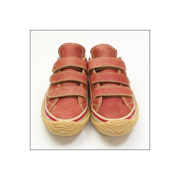 SPINGLE MOVE スピングルムーブ SPM-211 RED レッド 赤 スニーカー 革靴 ローカット メンズサイズ 紐なし 日本製|mstage|08