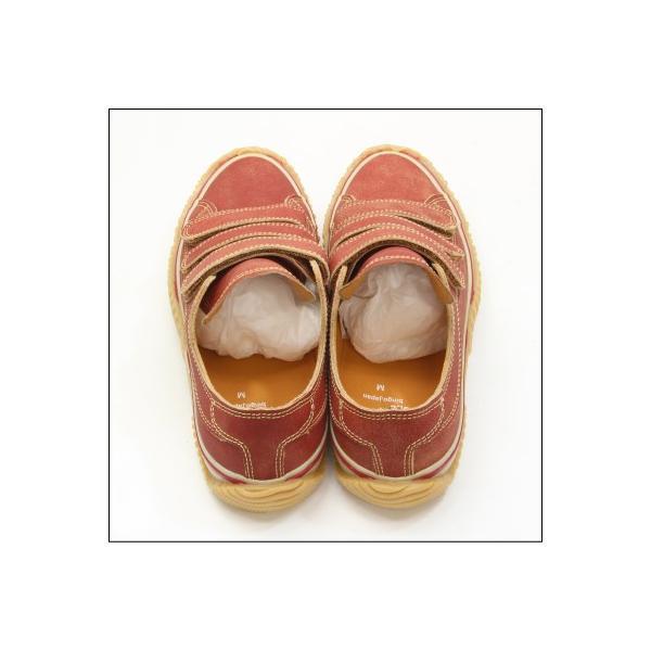 SPINGLE MOVE スピングルムーブ SPM-211 RED レッド 赤 スニーカー 革靴 ローカット メンズサイズ 紐なし 日本製|mstage|09