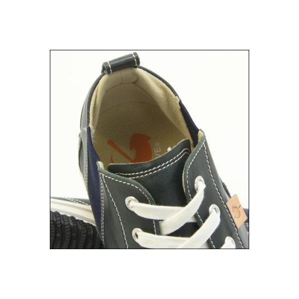 スピングルムーブ SPINGLE MOVE SPM-442 DARK BLUE ダークブルー スニーカー 革靴 メンズ 手作り made in japan ハンドメイド|mstage|05
