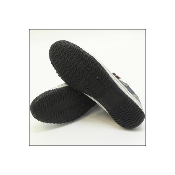スピングルムーブ SPINGLE MOVE SPM-442 DARK BLUE ダークブルー スニーカー 革靴 メンズ 手作り made in japan ハンドメイド|mstage|07