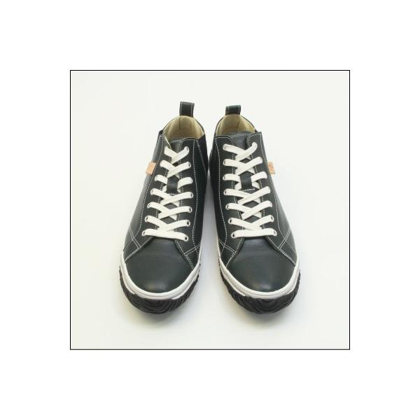 スピングルムーブ SPINGLE MOVE SPM-442 DARK BLUE ダークブルー スニーカー 革靴 メンズ 手作り made in japan ハンドメイド|mstage|09