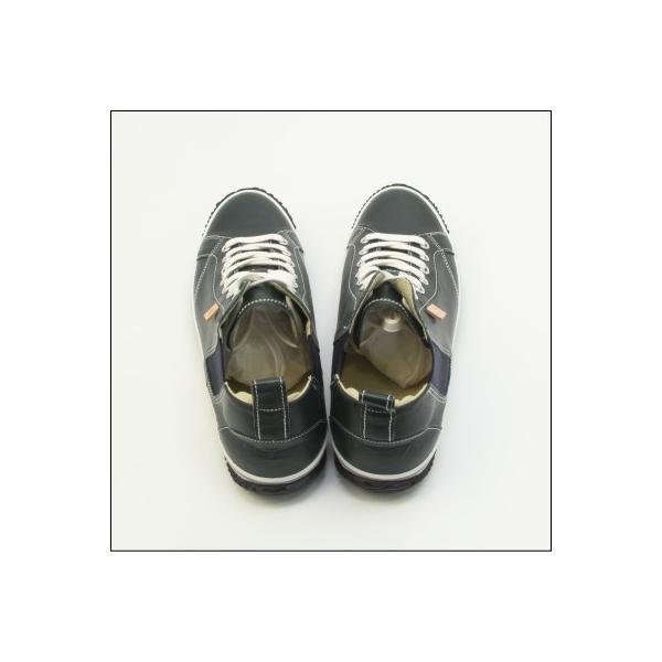 スピングルムーブ SPINGLE MOVE SPM-442 DARK BLUE ダークブルー スニーカー 革靴 メンズ 手作り made in japan ハンドメイド|mstage|10