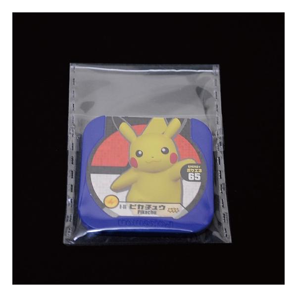 OPP袋(透明)テープ付 厚口0.05(50ミクロン)50×67mm ポケモントレッタ用 200枚入 mt-ishop 03