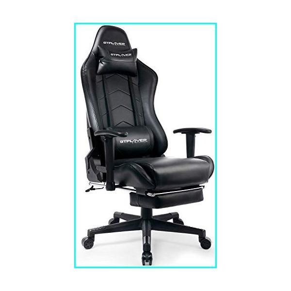(新品)Hardworking bee Buying Gaming Chair with Footrest Computer Racing Heavy Duty E-Sports Chair for Pro Gamer Seat Height Adjustable Multi-Fun mtii 01