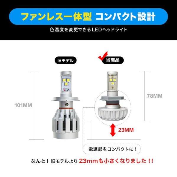 LEDヘッドライト バイク 1個 28W 20W 3000LM 2200LM 色変更 12V 24V ヘッドライト (LED-B3S)|mtkshop|02